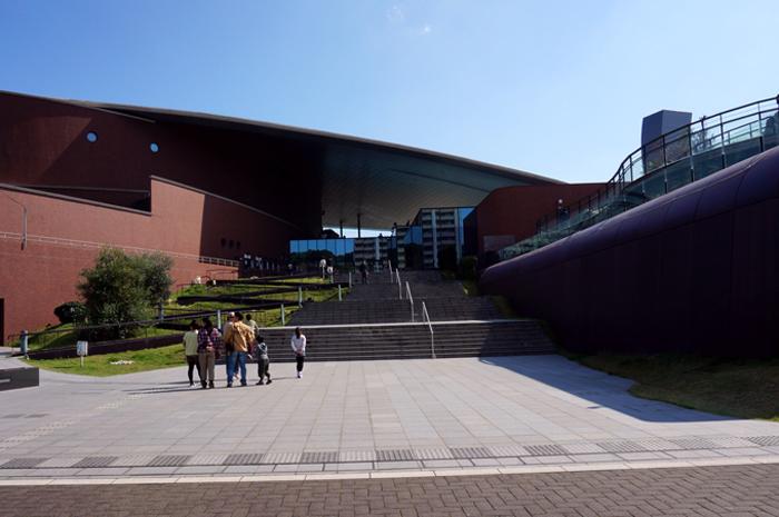 海響館入口
