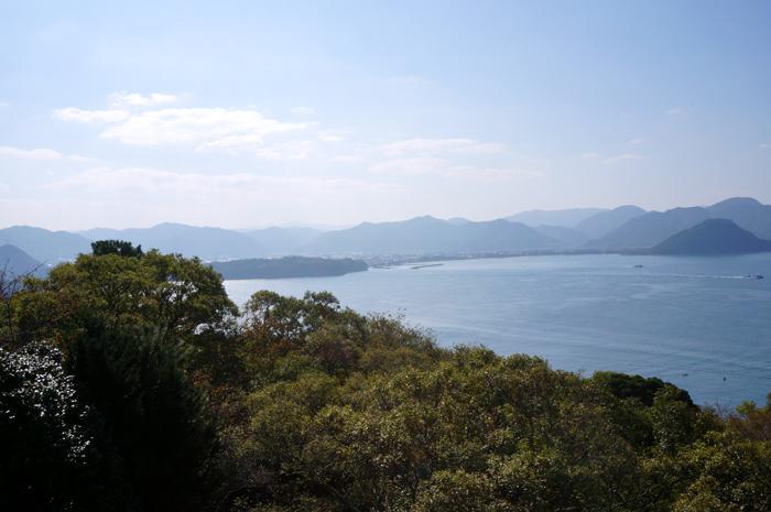 笠山からの眺望