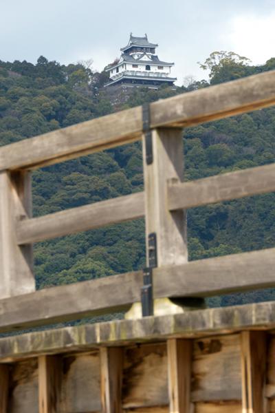 錦帯橋と岩国城