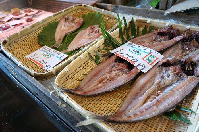 唐戸市場新鮮な魚