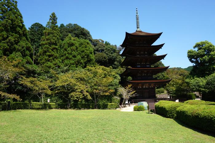 瑠璃光寺五重塔