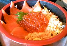 萩シーマートの海鮮丼