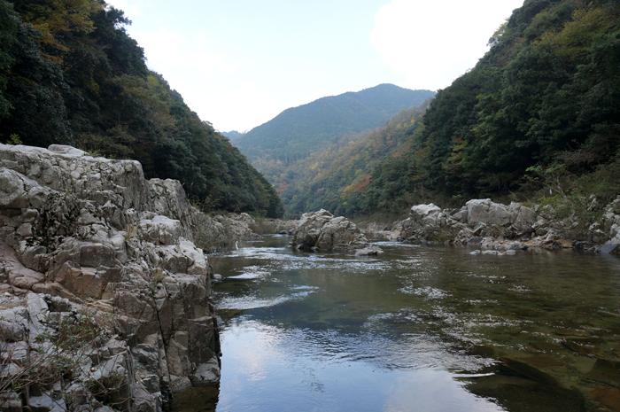 長門峡渓谷