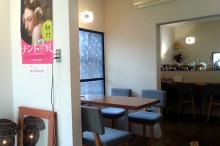 カフェ「deco.」店内写真